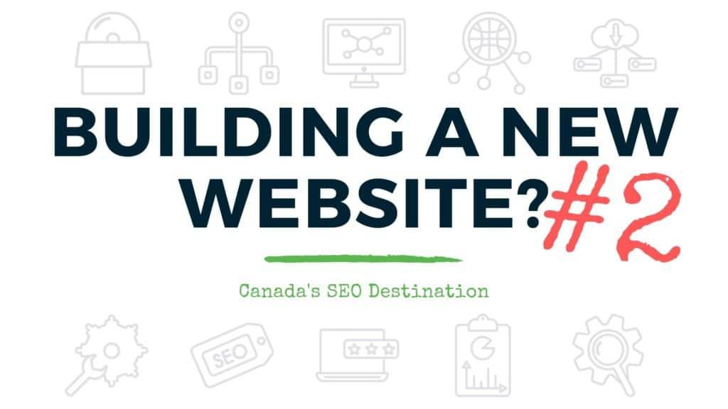 building your new website 2